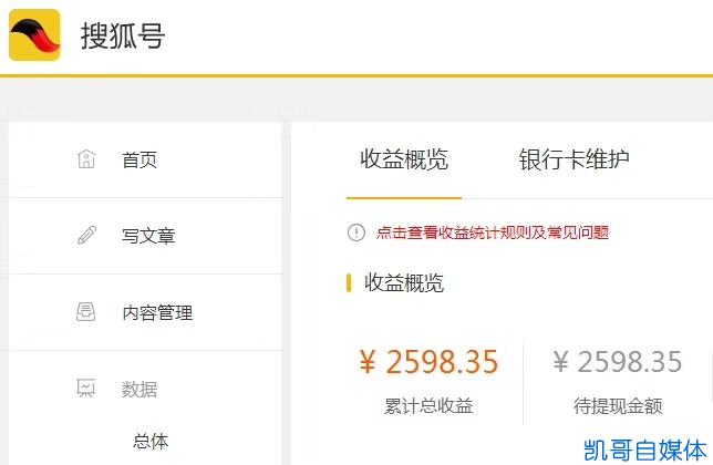 搜狐号赚钱的几个方法,搜狐自媒体开收益、引流效果赞!